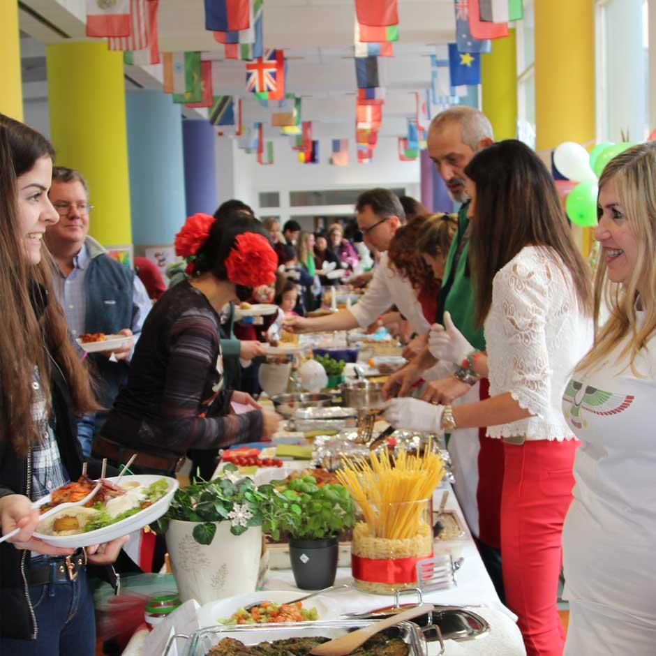 ISP food festival